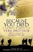 Cover-Bild zu Brittain, Vera: Because You Died