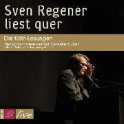 Cover-Bild zu Regener, Sven: Sven Regener liest quer