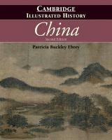 Cover-Bild zu Ebrey, Patricia Buckley: The Cambridge Illustrated History of China