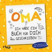 Cover-Bild zu Oma, ich habe ein Buch für dich geschrieben - Version für Kinder von Emma Sonnefeldt