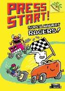 Cover-Bild zu Super Rabbit Racers!: A Branches Book (Press Start! #3), Volume 3 von Flintham, Thomas