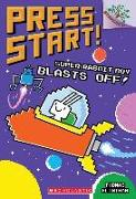 Cover-Bild zu Super Rabbit Boy Blasts Off!: A Branches Book (Press Start! #5), Volume 5 von Flintham, Thomas
