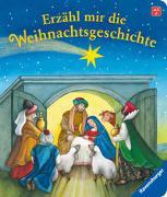 Cover-Bild zu Erzähl mir die Weihnachtsgeschichte von Dierks, Hannelore