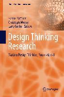 Cover-Bild zu Plattner, Hasso (Hrsg.): Design Thinking Research