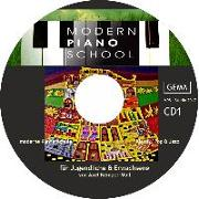 Cover-Bild zu Kemper-Moll, Axel: Modern Piano School CD 1 zum Buch