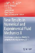 Cover-Bild zu Krämer, Ewald (Hrsg.): New Results in Numerical and Experimental Fluid Mechanics X (eBook)