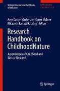 Cover-Bild zu Cutter-Mackenzie-Knowles, Amy (Hrsg.): Research Handbook on ChildhoodNature (eBook)