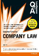 Cover-Bild zu Ma, Fang: Law Express Question and Answer: Company Law (Q&A revision guide)