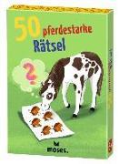 Cover-Bild zu 50 pferdestarke Rätsel