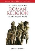 Cover-Bild zu Rüpke, Jörg: A Companion to Roman Religion