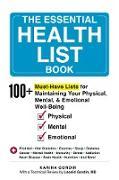 Cover-Bild zu Gordin, Karina: The Essential Health List Book (eBook)