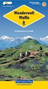 Cover-Bild zu Hallwag Kümmerly+Frey AG (Hrsg.): Wallis Wanderwelt