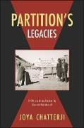 Cover-Bild zu Chatterji, Joya: Partition's Legacies (eBook)