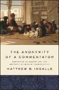 Cover-Bild zu Ingalls, Matthew B.: Anonymity of a Commentator, The (eBook)