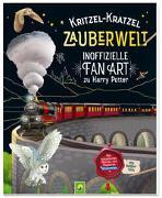 Cover-Bild zu Bensch, Katharina: Kritzel-Kratzel Zauberwelt - Inoffizielle Fan Art zu Harry Potter