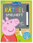 Cover-Bild zu Schwager & Steinlein Verlag: Peppa Pig - Rätsel-Spielheft