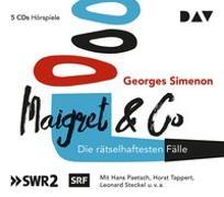 Cover-Bild zu Simenon, Georges: Maigret & Co - Die rätselhaftesten Fälle