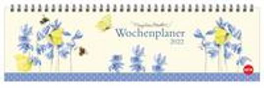 Cover-Bild zu Bastin, Marjolein: Marjolein Bastin: Wochenquerplaner Kalender 2022