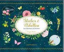 Cover-Bild zu Bastin, Marjolein (Illustr.): Stickerbuch - Zeitlos schön - Sticker und Etiketten (Marjolein Bastin)