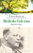 Cover-Bild zu Bonhoeffer, Dietrich: Bleibt der Erde treu