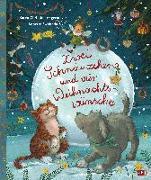 Cover-Bild zu Zwei Schnäuzchen und vier Weihnachtswünsche von Angermayer, Karen Christine