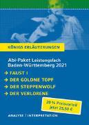 Cover-Bild zu Goethe, Johann Wolfgang von: Abitur-Paket Baden-Württemberg 2021 Leistungsfach - Königs Erläuterungen