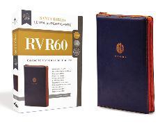 Cover-Bild zu RVR 1960- Reina Valera 1960,: Biblia Reina Valera 1960 Letra Supergigante, Leathersoft, con Cierre, Azul / Spanish Bible RVR60 Super Giant Print, Leathersoft with Zipper, Blue