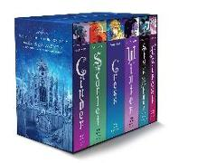 Cover-Bild zu Meyer, Marissa: The Lunar Chronicles Boxed Set: Cinder, Scarlet, Cress, Fairest, Stars Above, Winter