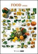 Cover-Bild zu Teubner Edition (Geschaffen): FOOD 2022 - Lebensmittel-Warenkunde - Küchen-Kalender von DUMONT- Poster-Format 50 x 70 cm