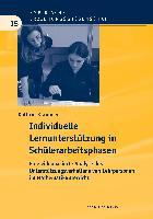 Cover-Bild zu Krammer, Kathrin: Individuelle Lernunterstützung in Schülerarbeitsphasen