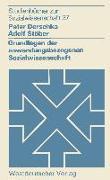 Cover-Bild zu Derschka, Peter: Grundlagen der anwendungsbezogenen Sozialwissenschaft (eBook)