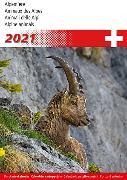Cover-Bild zu Cal. Alpentiere 2021 Ft. 14,8x22