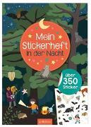 Cover-Bild zu Markiewicz, Izabella (Illustr.): Mein Stickerheft - In der Nacht