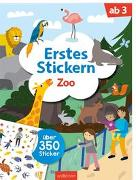 Cover-Bild zu Markiewicz, Izabella (Illustr.): Erstes Stickern Zoo