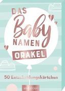 Cover-Bild zu Markiewicz, Izabella (Illustr.): Das Babynamen-Orakel. 50 Entscheidungskärtchen