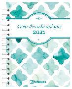 Cover-Bild zu Mein Familienplaner 2021 - Diary - Buchkalender - Taschenkalender - 17,5x23,1