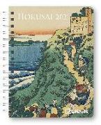 Cover-Bild zu Hokusai 2021 - Diary - Buchkalender - Taschenkalender - Kunstkalender - 16,5x21,6