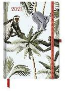 Cover-Bild zu GreenLine Diary Jungle 2021 - Buchkalender - Taschenkalender - 16x22