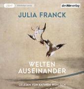 Cover-Bild zu Welten auseinander von Franck, Julia