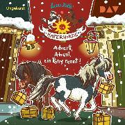 Cover-Bild zu Die Haferhorde - Teil 16: Advent, Advent, ein Pony rennt! (Audio Download) von Kolb, Suza