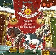 Cover-Bild zu Die Haferhorde - Teil 16: Advent, Advent, ein Pony rennt! von Kolb, Suza