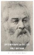 Cover-Bild zu Whitman, Walt: Specimen Days and Collect