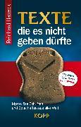 Cover-Bild zu Texte, die es nicht geben dürfte (eBook) von Habeck, Reinhard
