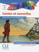 Cover-Bild zu Maupassant, Guy de: Livret de Bande Dessinée Nouvelles de Maupassant Niveau 3