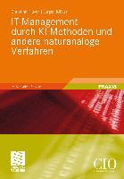 Cover-Bild zu Klüver, Christina: IT-Management durch KI-Methoden und andere naturanaloge Verfahren