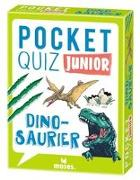 Cover-Bild zu Pocket Quiz junior Dinosaurier von Winzer, Jürgen