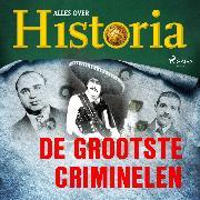 Cover-Bild zu De grootste criminelen (Audio Download) von historia, Alles over