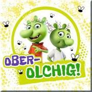"""Cover-Bild zu Die Olchis Magnet """"Ober-olchig"""" von Dietl, Erhard (Gestaltet)"""