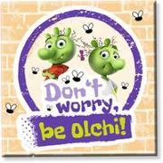 """Cover-Bild zu Die Olchis Magnet """"Be Olchi"""" von Dietl, Erhard (Gestaltet)"""