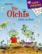 Cover-Bild zu Die Olchis allein zu Haus von Dietl, Erhard